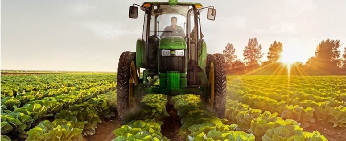 John Deere 5090EH High Crop Tractor